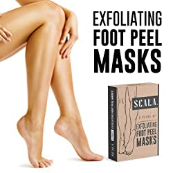 Scala Foot Peel Exfoliating Mask (2 Pairs) for Soft Feet