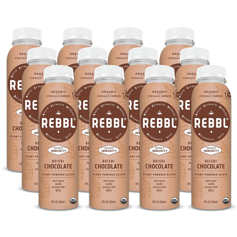 Max 69% OFF REBBL Plant 55% OFF Powered Elixirs Reishi Elixir Chocolate Immunity 1