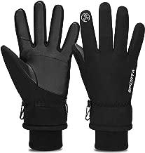 40℉ Winter Warm Thermal Large MOHOO Ski Gloves Men Women Waterproof