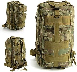 Greenpromise Mochila unisex impermeable de nailon militar táctica de gran capacidad 30 l al aire libre de viaje camping senderismo bolsa de supervivencia