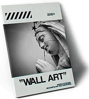 Rob's Tees Virgin Mary Wall Art Canvas Print, Hypebeast Canvas Print, Streetwear Canvas, Pop Culture Wall Art, Gallery Style Canvas Print (8x10)