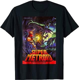 Samus Super Metroid Cover Graphic T-Shirt