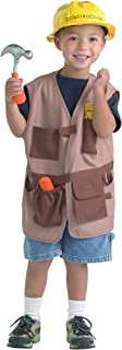Brand New World Community Helper Construction Worker Dramatic Dress Up Brown