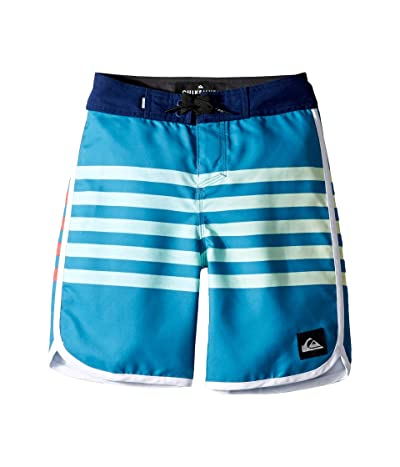 Quiksilver Kids Everyday Grass Roots 17 Boardshorts (Big Kids) (Southern Ocean) Boy