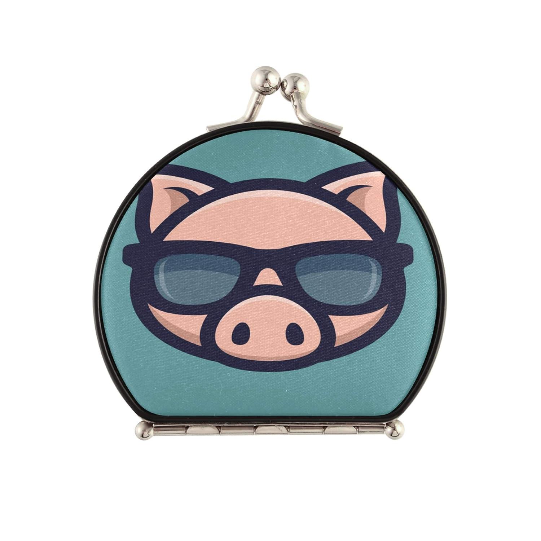 MiniTravelMirror Cool Product Pig Sunglasses Head Icon Choice Piggy MakeupMi