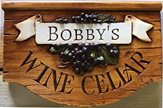 product image for Piazza Pisano Wine Cellar Personalized Sign