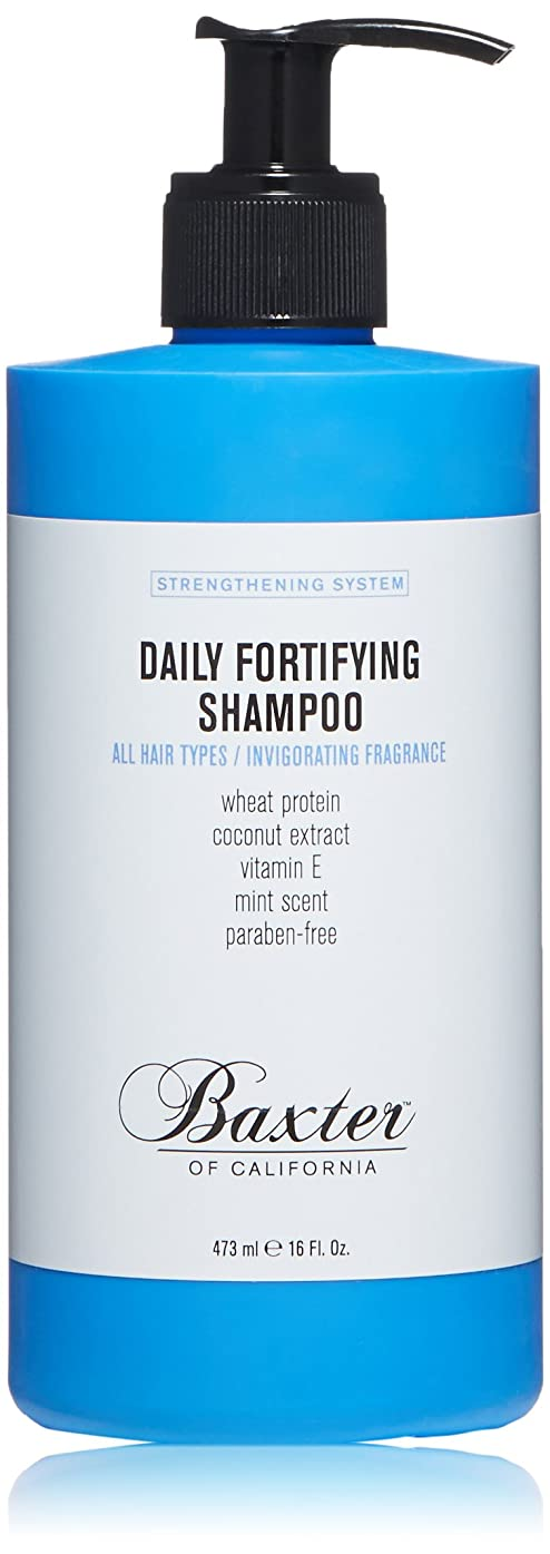 ラップ小さい村バクスターオブカリフォルニア Strengthening System Daily Fortifying Shampoo (All Hair Types) 473ml