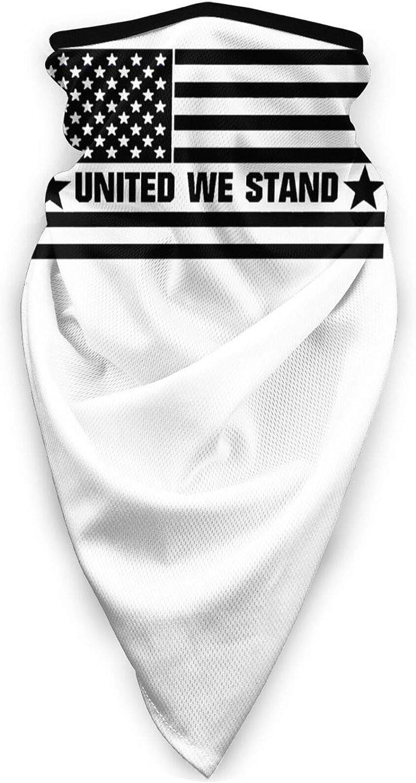 United We Stand Unisex Outdoor Anti Sun UV Windproof Sports Mask Balaclava Fishing Motorcycle Neck Gaiter Black
