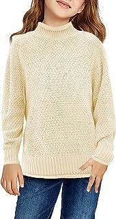 GOSOPIN Women Autumn Winter Long Sleeve Turtleneck Knit Sweater Dress