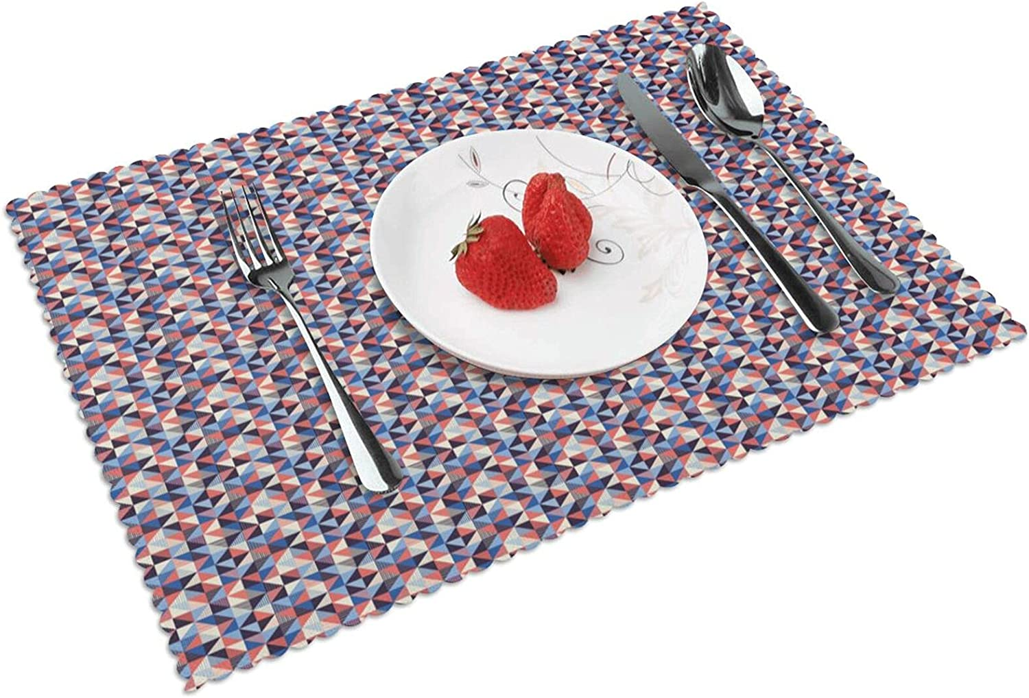 Max 42% OFF Vsldfjc Baby Placemat Outdoor Placemats Patio Heat-Res Store Table for