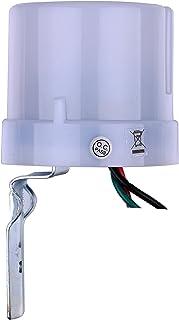 ZEYUN interruptor crepuscular Sensor de luz crepuscular 230V 15A sensor de luz automático encendido/apagado;Interruptor de...