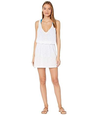 BECCA by Rebecca Virtue Breezy Basics Tie Shoulder Dress Cover-Up