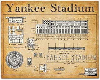Best original yankee stadium blueprint Reviews