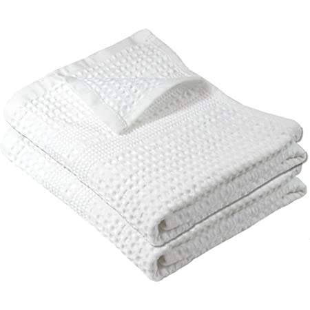 Amazon Com Gilden Tree Premium Waffle Weave Hand Towel 100 Natural Cotton Highly Absorbent Quick Drying Lint Free Extra Soft Feel Thin Cloth White Home Kitchen