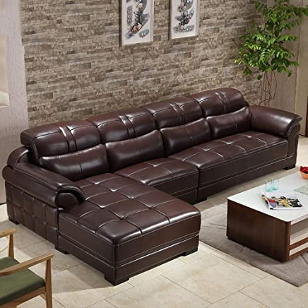 Amazon.es: Sofa Rinconera Piel