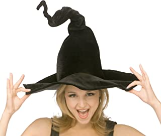 Costume Co. Women's Wired Velour Witch Hat