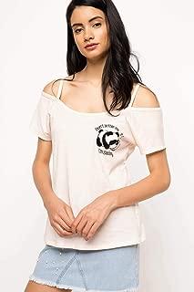 DeFacto Panda Baskılı Askılı Bluz