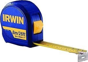 Irwin IW13948, Trena Manual Standard 8 Metros, Azul e Amarelo