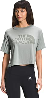 The North Face Women's Short Sleeve Half Dome Cropped Tee Shirt