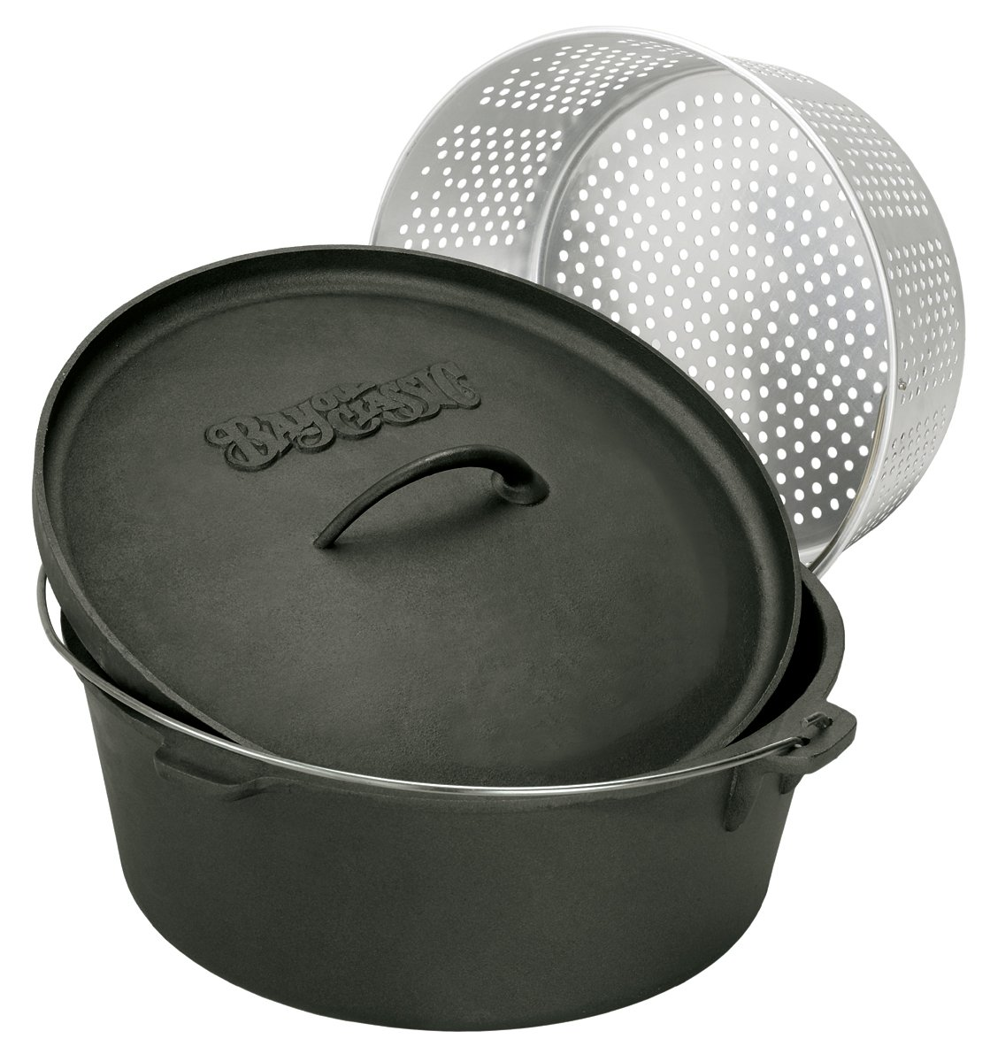 Bayou Classic 7420 20 Quart Perforated