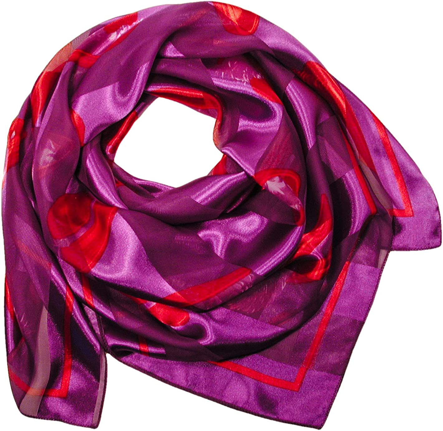 Red Hat Society Large Square Scarf Gift Box Option