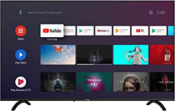 Skyworth E20300 40-Inch 1080P Full HD Smart TV, LED Android TV with Voice Remote