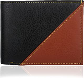 K London Black and Brown Men's Wallet