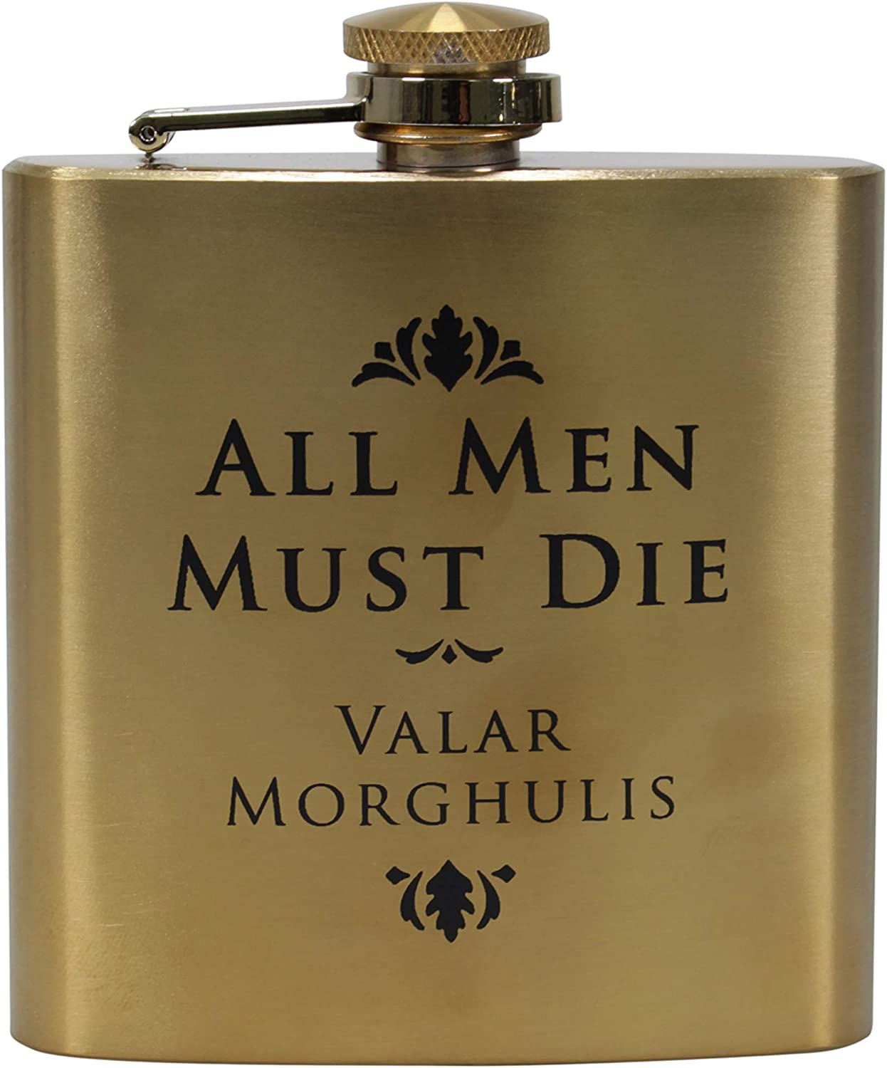 Hip Flask 返品送料無料 7oz Boxed - Game of Men All Thrones 即納 Must Die