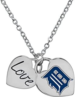 Game Time Detroit Tigers MLB Ladies Heart Necklace