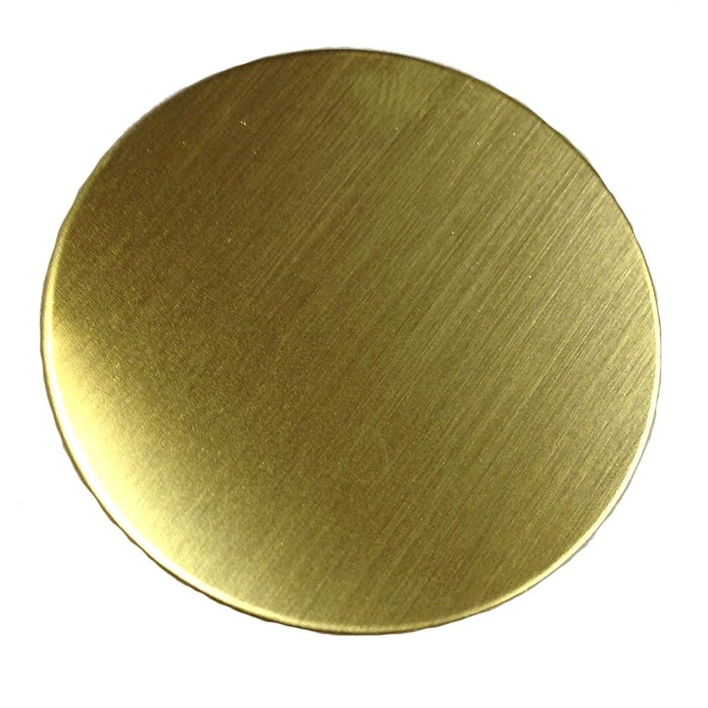 RMP Stamping Blanks, 1 Inch Round Brass.020 Inch / 24 Gauge - 20 Pack