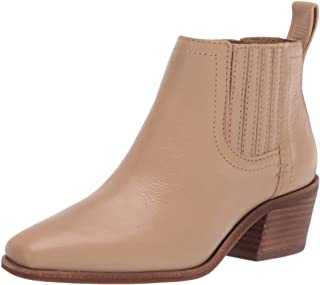Lucky Brand Women's IDOLA Bootie Ankle Boot, Stone, 5.5