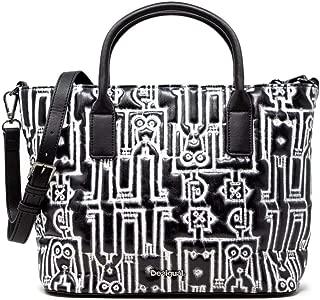 Luxury Fashion   Desigual Womens 19WAXP62BLACK Black Handbag   Fall Winter 19
