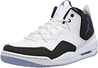 separation shoes 792d2 e5c07 Jordan Nike Men s Courtside 23 White Dark Concord Black Basketball Shoe 11  Men US