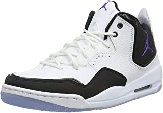 Jordan Courtside 23 White/Dark Concord-Black