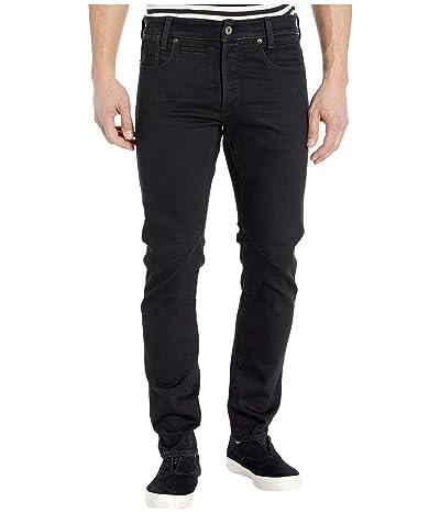 G-Star D-Staq Pop Five-Pocket Slim in Jet Black (Jet Black) Men