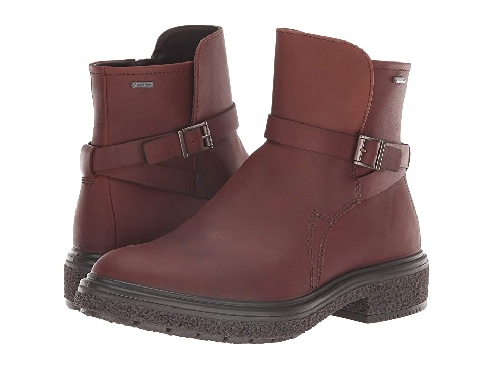 ECCO Crepetray GORE-TEX(r) Boot (Rust Cow Leather) Women