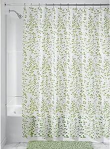 iDesign Vine Waterproof PEVA Bathroom Shower Curtain - 72