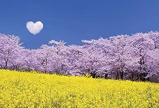 【Amazon.co.jp 限定】ハート雲 桜と菜の花 ポストカード3枚セット P3-191