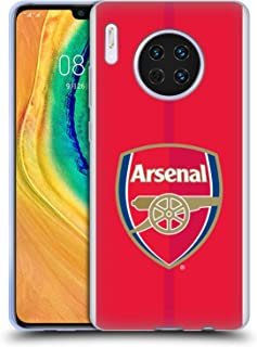 Official Arsenal FC Home 2016/17 Crest Kit Soft Gel Case Compatible for Huawei Mate 30
