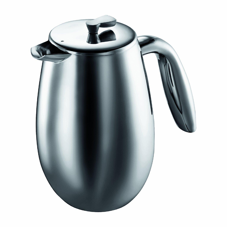 Bodum Columbia Cafetera y tetéra, Jarra térmica, Acero Inoxidable, Mate, 0,35 litros: Amazon.es: Hogar