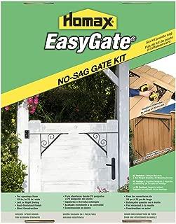 Gate Bracket Kit, 4 Bracket, Swirl Design Easy Gate, for Gate Repair and New Decorative Gates