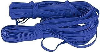 Polyester Flat elastiskt rep för elastiskt band(Royal blue)