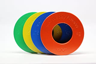 Iron Woody Fitness Olympic Fractional Plates, Kilogram, KG, Fractional Plates, Weight Lifting Plates, Crossfit Weights (Set of 8)