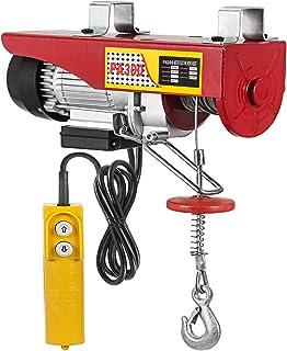 Mophorn Polipasto Electrico Elevador Eléctrico 300kg Montacargas Eléctrico para Garage y Levantar Herramientos Pesados 12m / 40ft