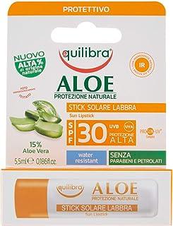 Equilibra Aloe Stick Solare Labbra Solare Spf 30, 5,5 ml