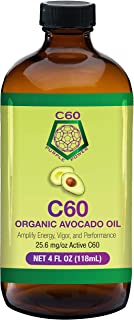 Carbon 60, 99.99% in Organic Avocado Oil - Highest Purity C60 – 4 oz