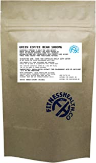Green Coffee Bean Extract 1000mg, 60 Diet Pills Fat Burner, Natural Weight Loss