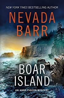 Boar Island (Anna Pigeon Mysteries, Book 19): A suspenseful mystery of the American wilderness