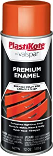 PlastiKote T-31 General Purpose Bright Orange Premium Enamel - 12 Oz.