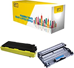 New York Toner New Compatible 2 Pack High Yield Toner & Drum for Brother TN350 DR350 - MFC MultiFunction Printers: MFC-7220   MFC-7225N   MFC-7420   MFC-7820D   MFC-7820N .--Black